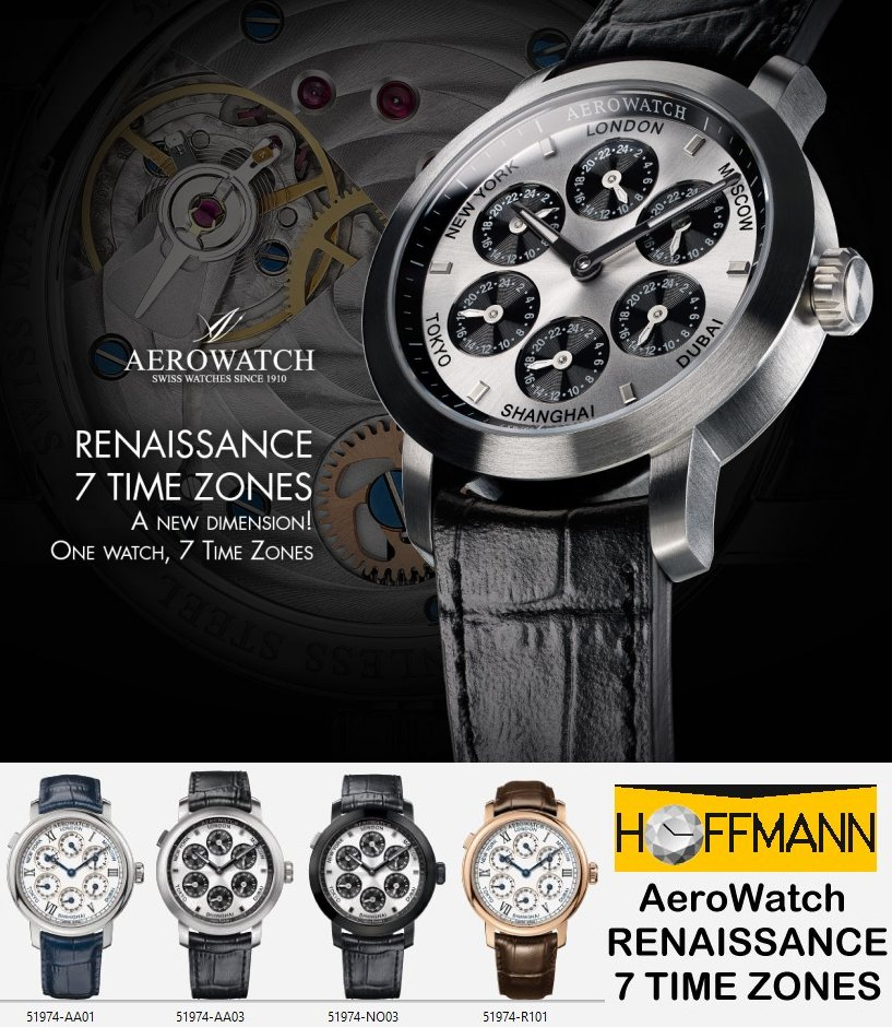 AeroWatch-RENAISSANCE-7-TIME-ZONES, AeroWatch-7-TIME-ZONES