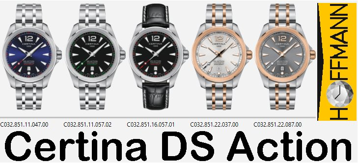 Certina-DS-Action, Precidrive-Cosc