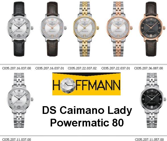 Certina-DS-Caimano-Lady-Powermatic-80