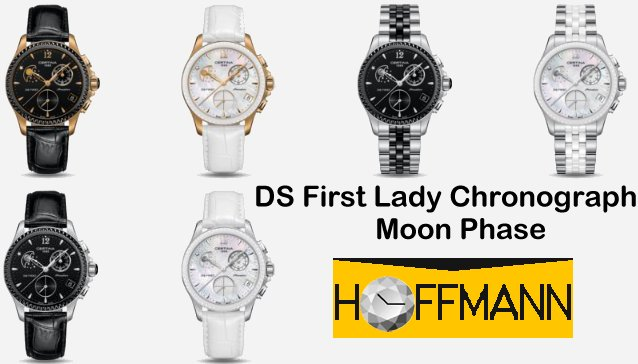 DS First Lady Chronograph Moon Phase