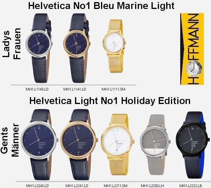 Helvetica-No1-Bleu-Marine-Light, Helvetica-Light-No1-Holiday-Edition