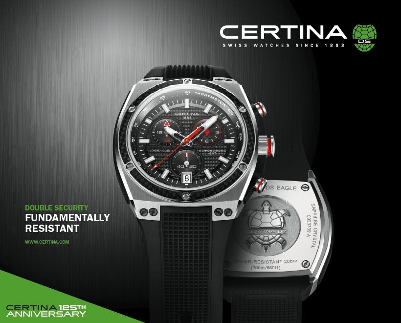 Certina-Armbanduhr