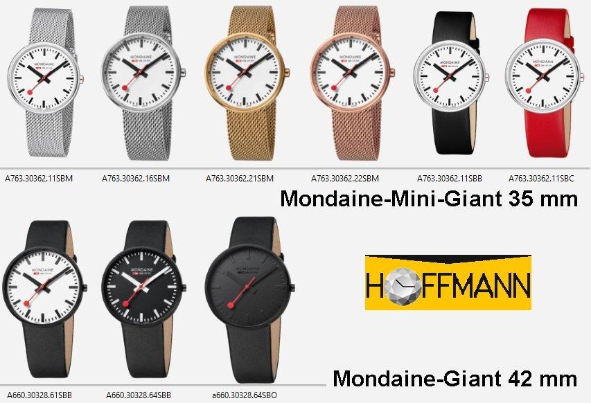 Mondaine-Giant, Mondaine-Mini-Giant