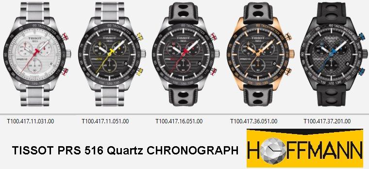 TISSOT-PRS-516-Quarz-CHRONOGRAPH