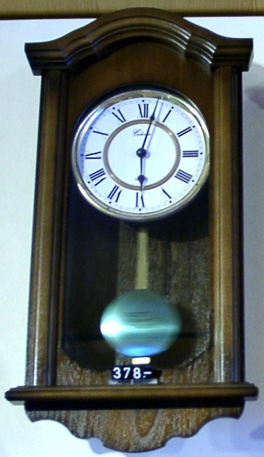 Westminsterregulator mit Batterie 19/307/6-Braun